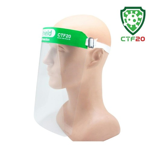 Face Shield Mask - GREEN series