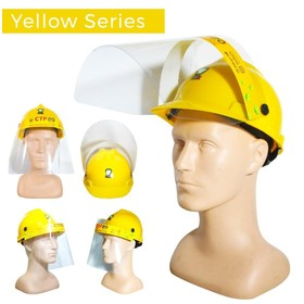 Face Shield Mask Topi Helm