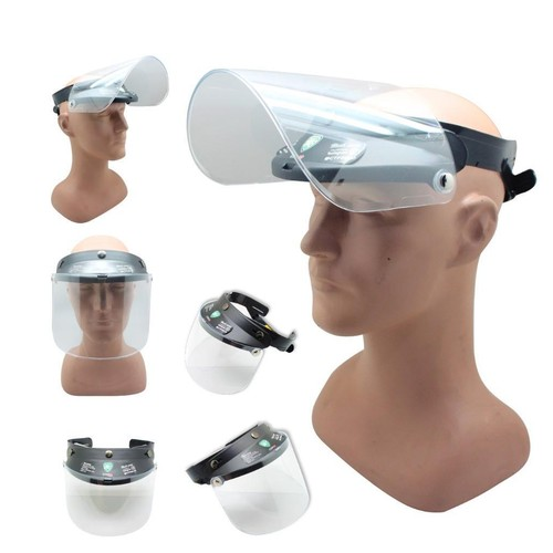 Face Shield Mask Kaca Helm - BLACK series