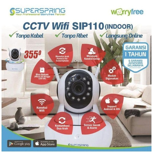 Superspring IP Camera SIP110 Indoor