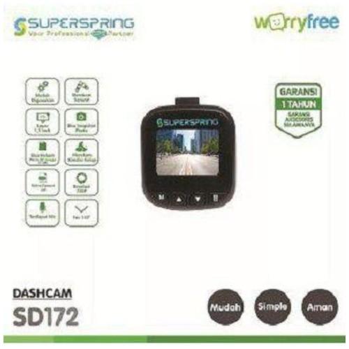 Superspring DashCam CCTV Mobil