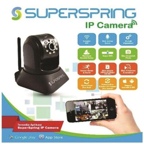 IP CAMERA CCTV SUPER SPRING IP410