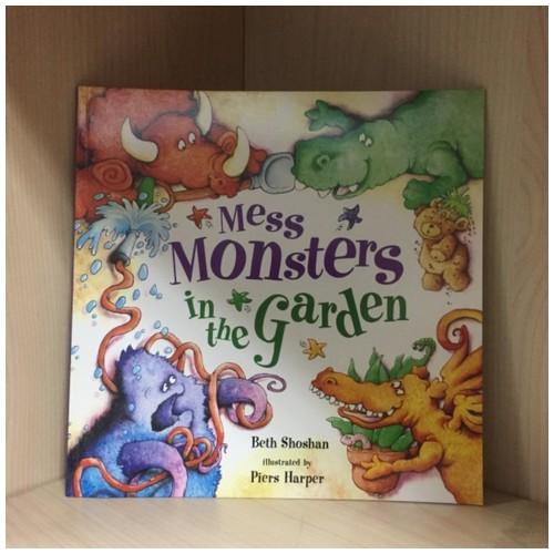Buku Mess Monster in the Garden