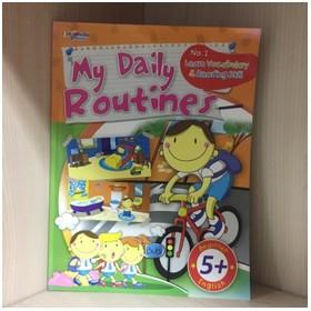 Buku My Daily Routines (bel