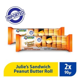 Julies Peanut Butter Roll -