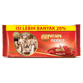Nissin Wafers Strawberry 13