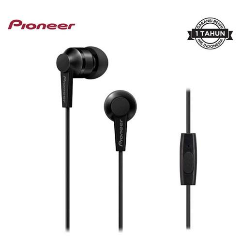 Pioneer Earphone in Ear SE-C3T(B) - Black