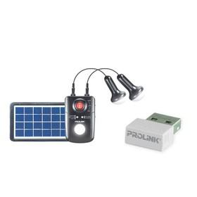 Prolink Solar Panel + LED P
