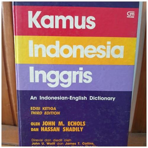 Kamus Indonesia - Inggris Edisi Ketiga