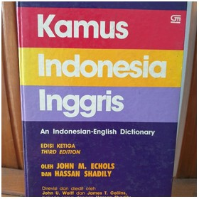 Kamus Indonesia - Inggris E