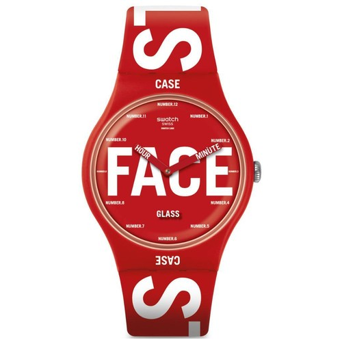 Swatch SUOR115 Swatchid - Red