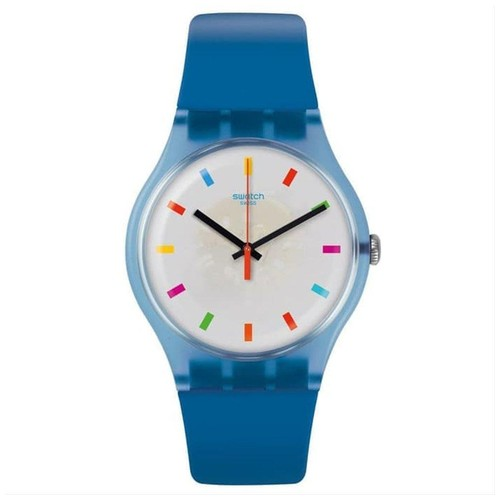 Swatch SUON125 Color Square - Blue