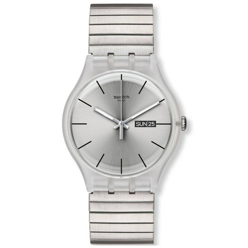 Swatch SUOK700 Resolution - Silver