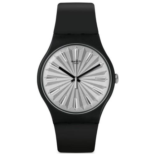 Swatch SUOB172 Silver Shield - Black
