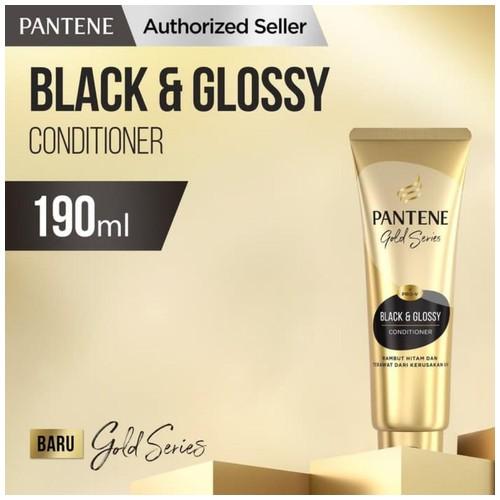 Pantene Pro-V Gold Series Black & Glossy Conditioner 190 ml