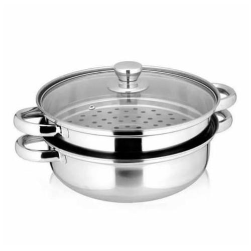 Cook pan steamer stainless masterchef