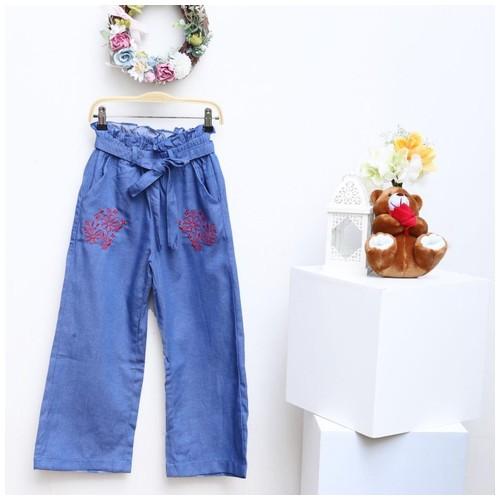 SIze 10 (Usia 9-10thn) Celana kulot anak perempuan