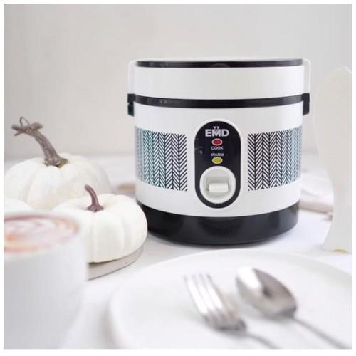 Portable Mini Rice Cooker Electric Lunch Box Elektrik Super Cook Penanak Nasi Mini
