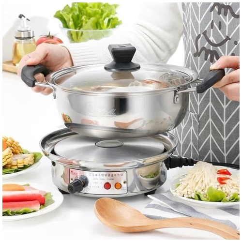 Panci Listrik Electric cooking Pot Mini Multifungsi