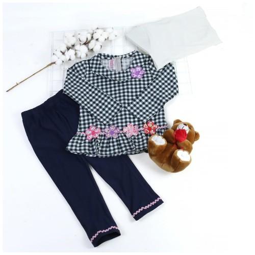 Renda Pink Size M (usia 2 tahun)/Setelan muslim anak
