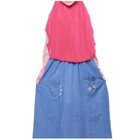 Strip Merah Size M (9-10 ta