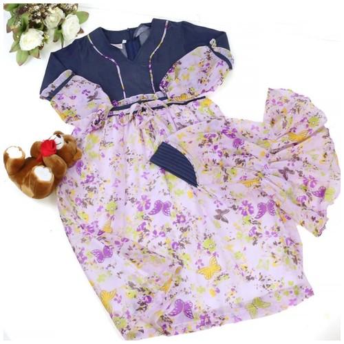 Size 6 (5-6 tahun) Gamis Anak/Gamis Sifon