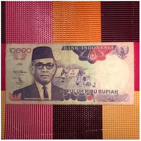 Uang Kuno Rp 10.000 Sri Sul