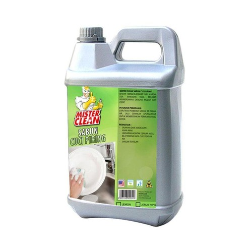 Mister Clean Sabun Cuci Piring 5 Liter