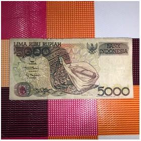 Uang Kuno Rp 5.000 Sasando