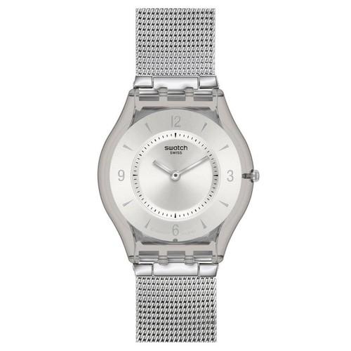 Swatch SFM118M Metal Knit - Silver
