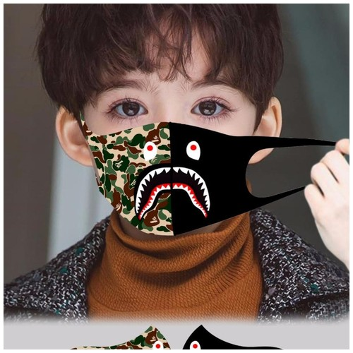 Masker Anak Scuba Printing