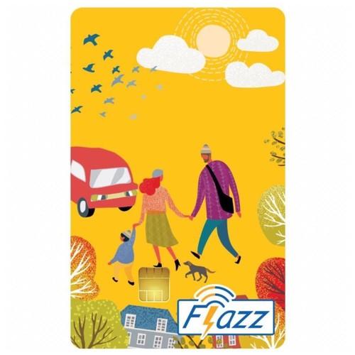 Kartu Flazz Reguler Kuning Berlogo Baru