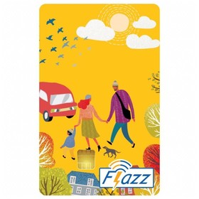 Kartu Flazz Reguler Kuning