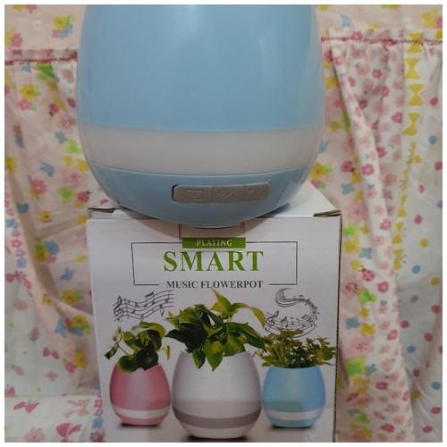 Smart Creative Music Touch Sensitive Flower Pot Vase Bluetooth Audio Speaker