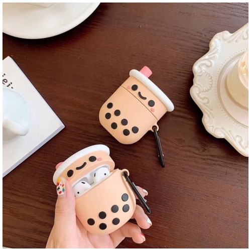 Airpods Case Cover Airpods Silicone Case Airpod BOBA MILK TEA