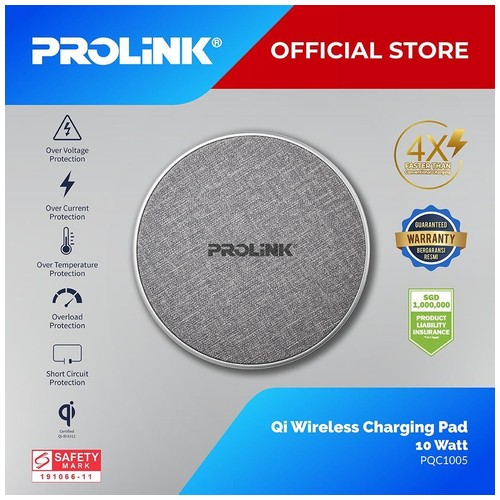 NEW PQC1005 10W Qi Wireless Charging Pad