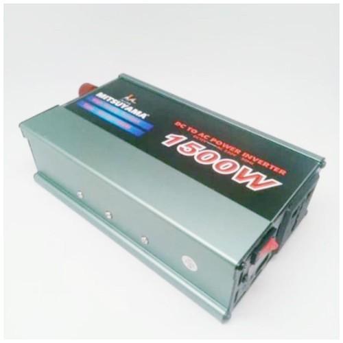 Power Inverter Mitsuyama 1500 Watt DC to AC Berkualitas