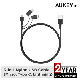 Aukey Cable CB-BAL5 3 in 1