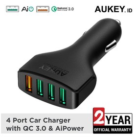 Aukey Car Charger 4 Port 54