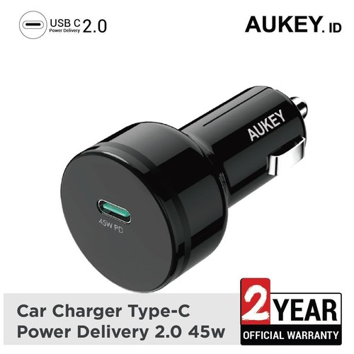 Aukey 45W Power Delivery Car Charger - 500370
