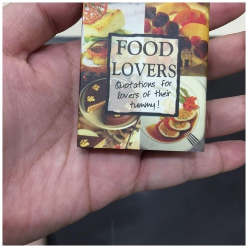 H&H Mini story book - Food Lovers