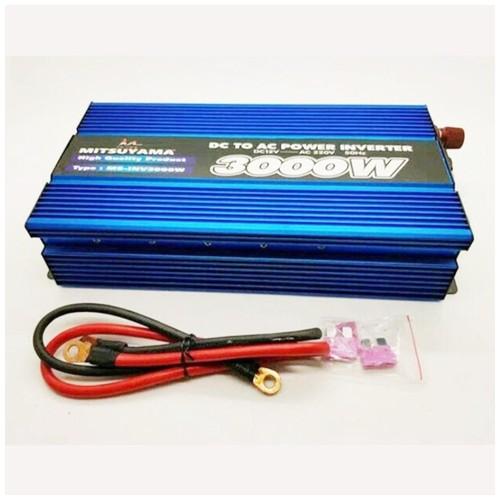 Power Inverter Mitsuyama 3000 Watt Pengubah Arus DC to AC