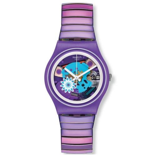 Swatch GV129 Flowerflex - Purple