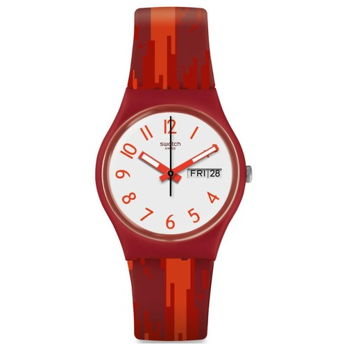 Swatch GR711 Red Flame - Red
