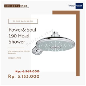 GROHE 27767000 - Power&Soul