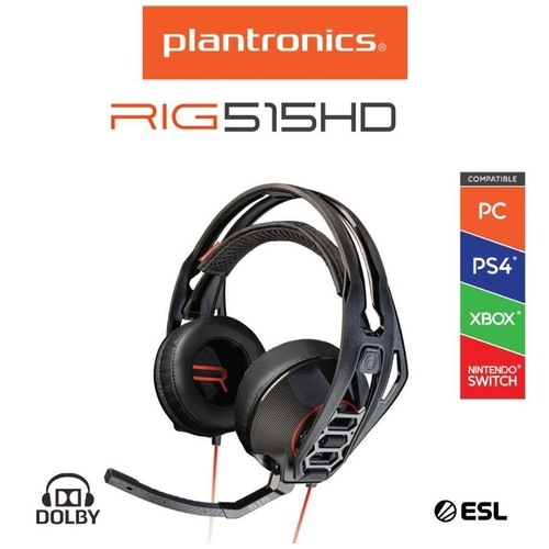 PLANTRONICS RIG 515HD LAVA Surround Sound Gaming Headset