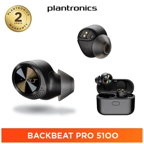 Plantronics Backbeat Pro 5100 True Wireless Earbuds - Black