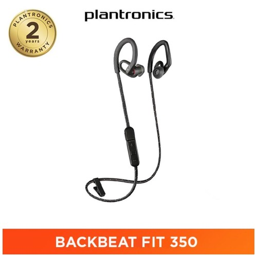 Plantronics Backbeat Fit 350 - Black Grey
