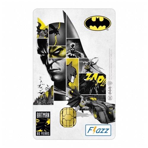 Kartu Flazz Batman Putih