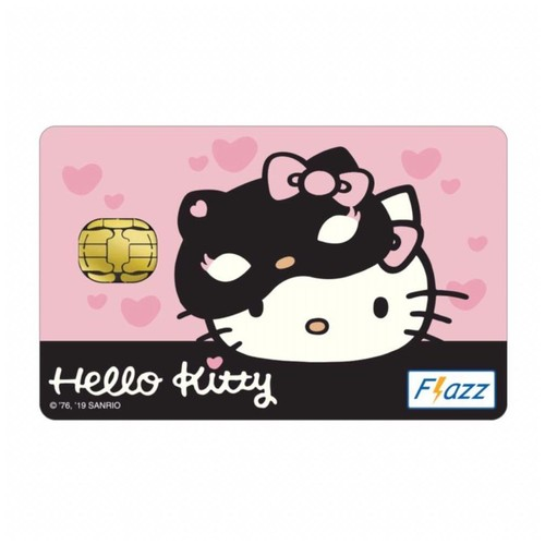 Kartu Flazz Limited Edition Hello Kitty Pink